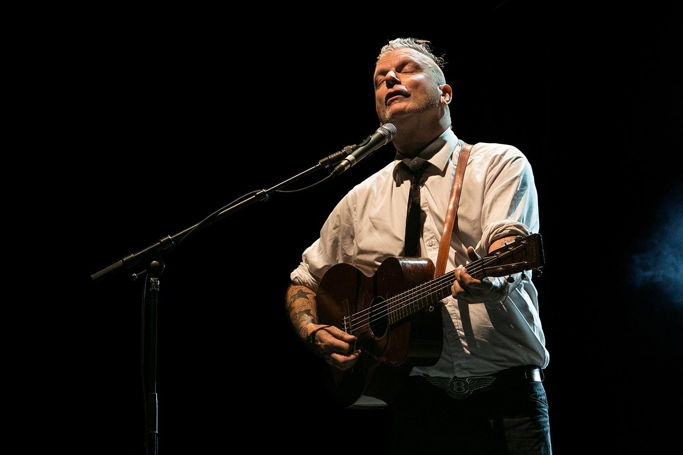 Stéphane Sanseverino (acoustique) - Festival Rockadel 2012 - Po