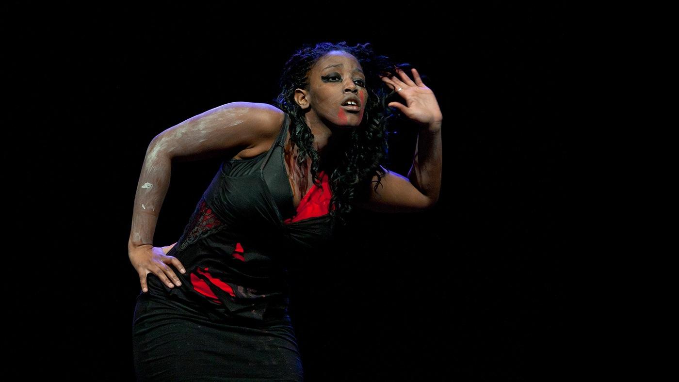 Danseuse black - Finale DATC 2012