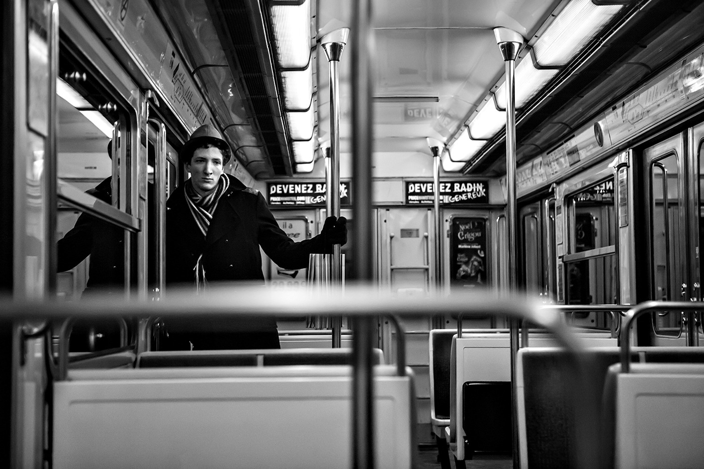 Métro - Homme seul