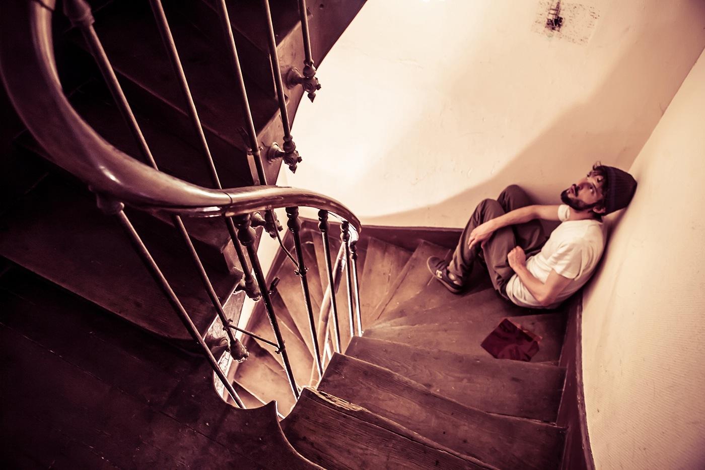 Baptiste - escaliers