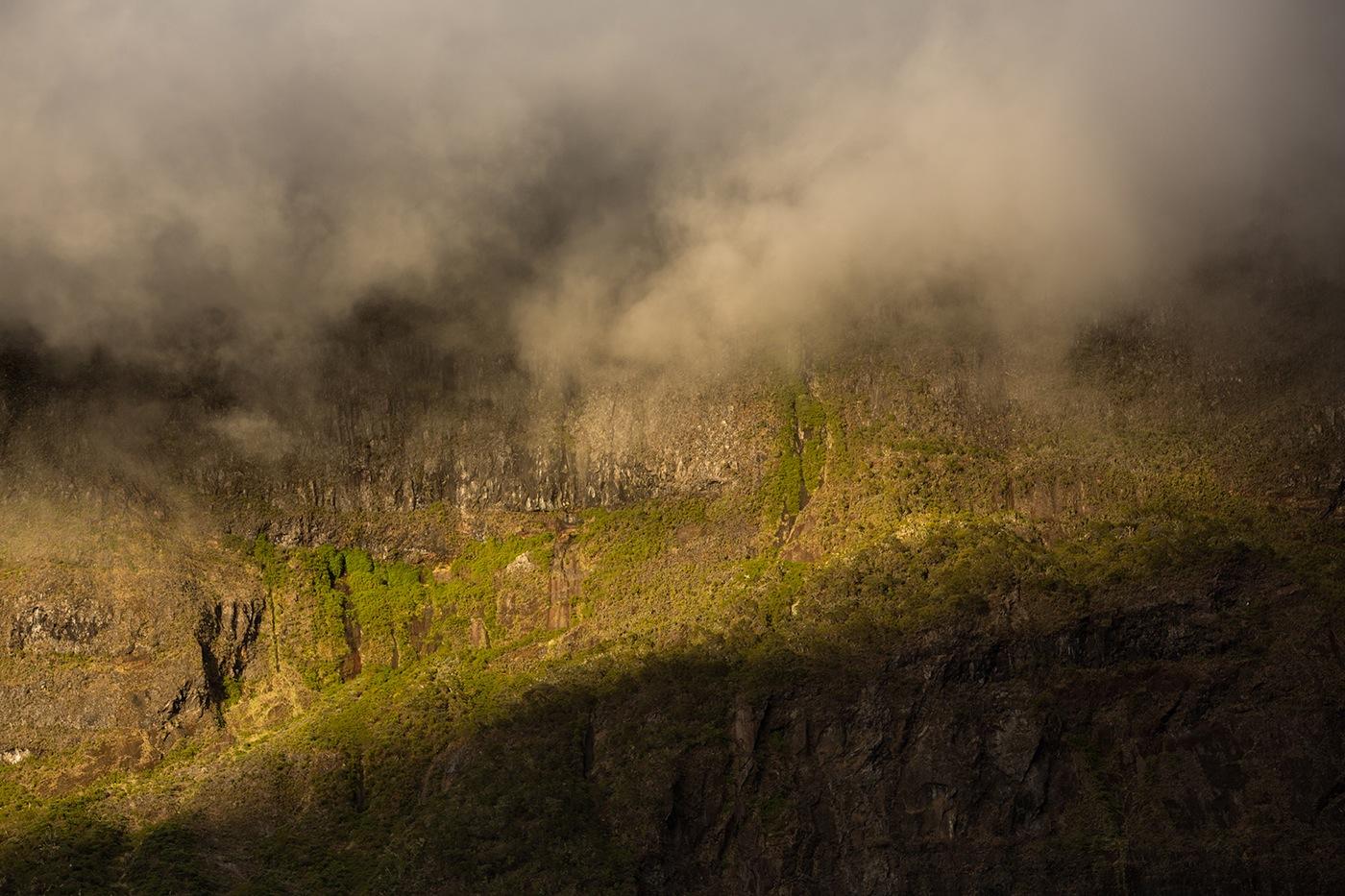 Coucher de soleil sur les roches du Kerval
