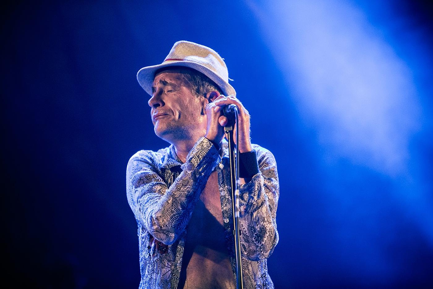 Didier Wampas (Bec) - Festival Rockadel 2012 - Poitiers