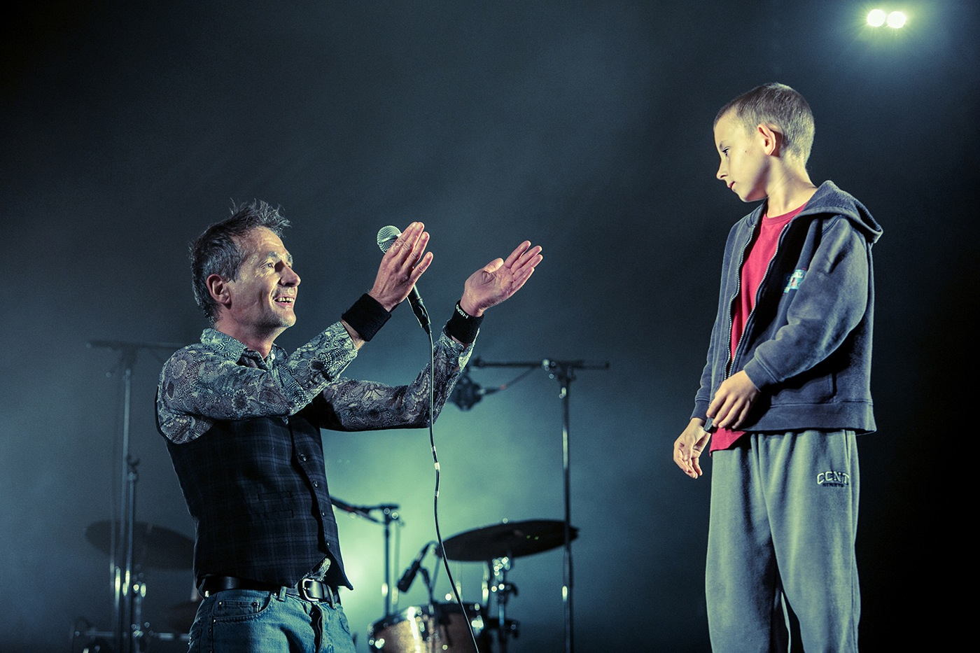 Didier Wampas & Dewey  - Festival Rockadel 2012 - Poitiers